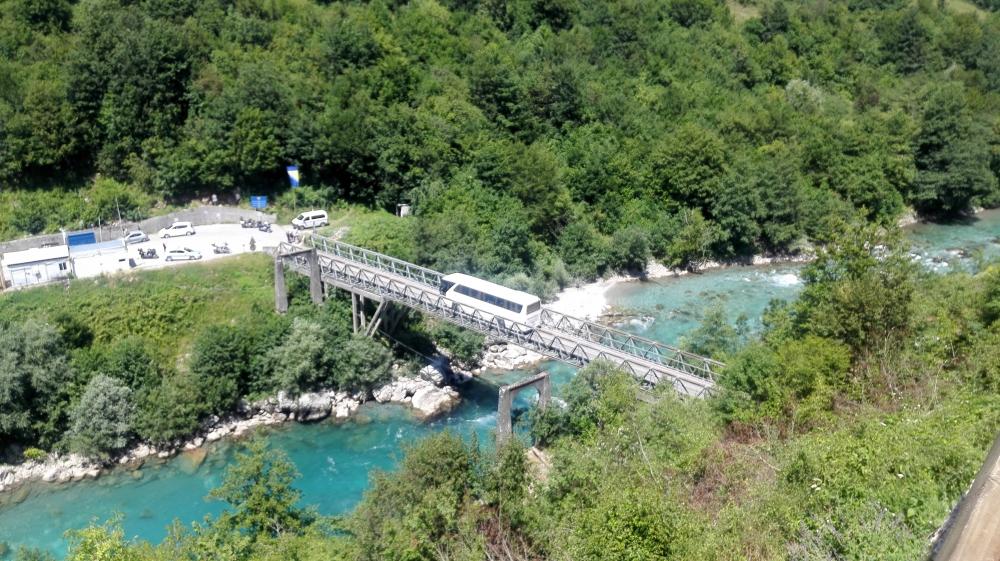 Most cez Taru - Balkán