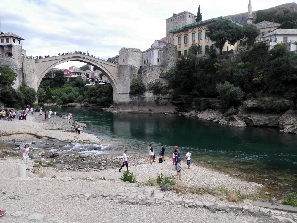 Mostarský zrekonštruovaný most