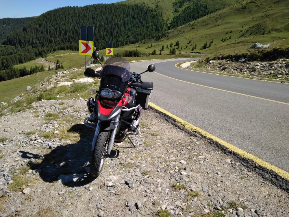 Cesta ciest Transalpina Rumunsko