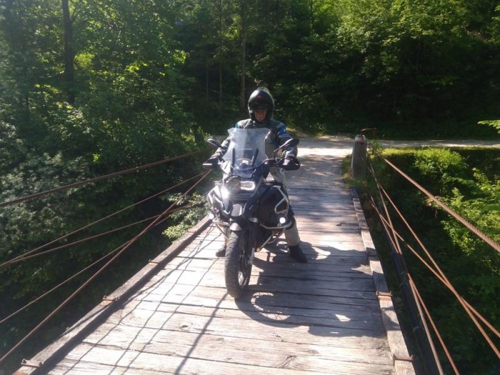Drevený most, záťažový test