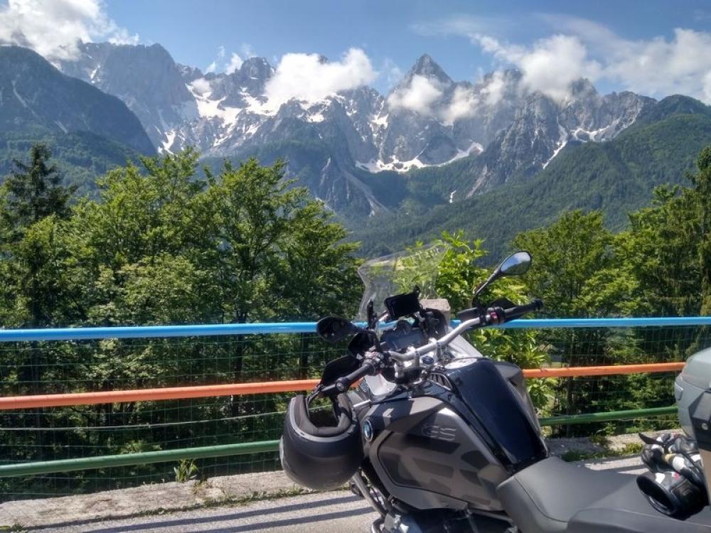 Na vrchole Vršič passu, Slovinsko