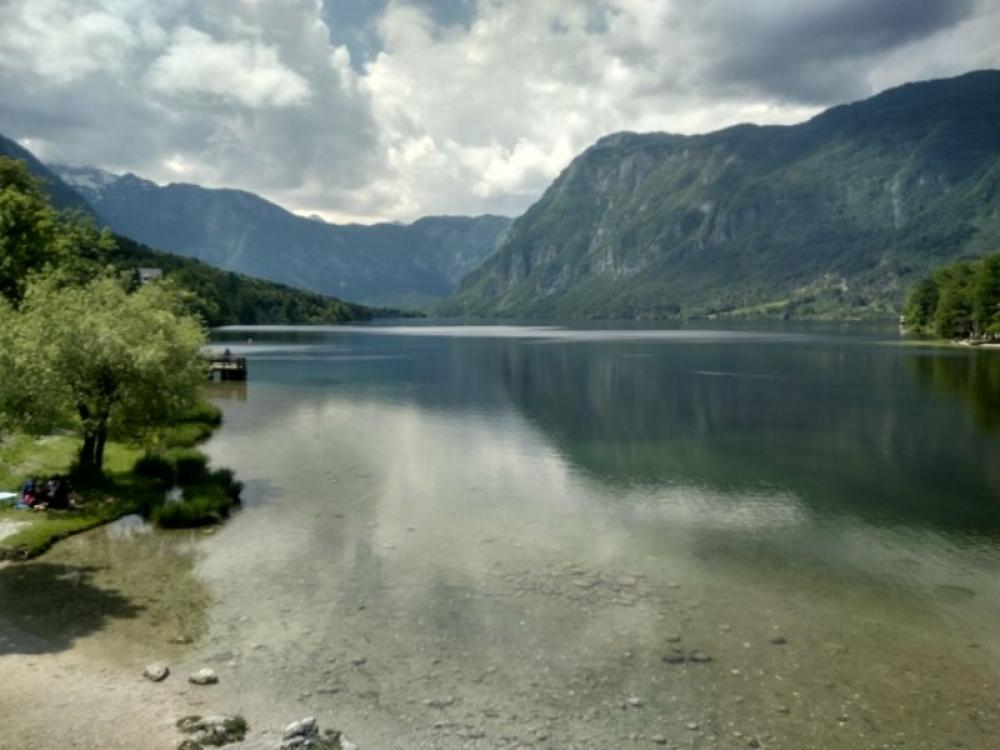Bohinjsko jezero, Slovinsko