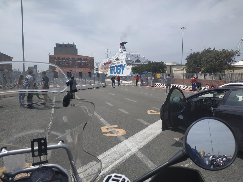 Livorno nakládka