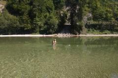 Kupanie v 17°C vode