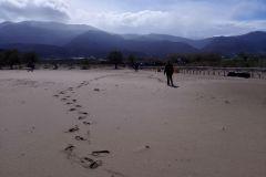 PLná pláž Malia