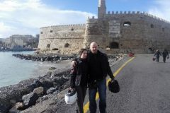 Pevnost Koules v Heraklione
