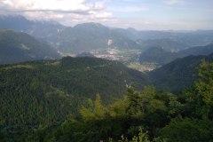 výhľad z cesty 605