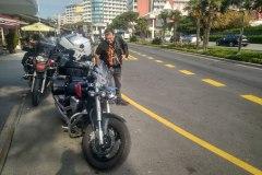 Pred odchodom raňajky v Pekare
