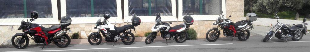 Eurodriver, Kréta na motorkách