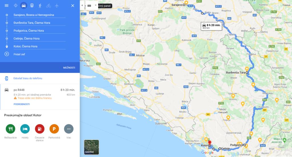 Deň 2, Bosna a Čierna hora