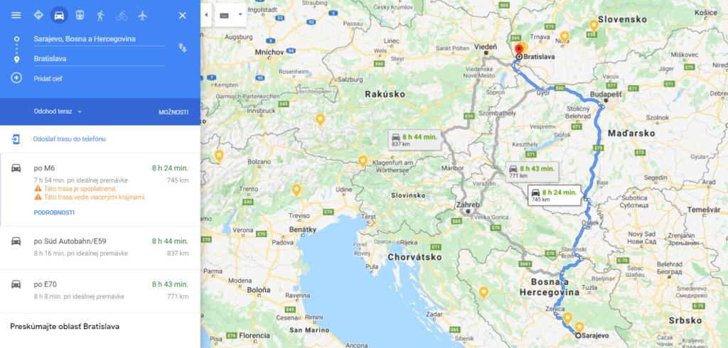 Den 1 Bosna, Čierna hora, Kokoti